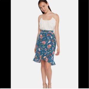 NEW • Tucker NYC • Ruffle Midi Skirt Alices Garden
